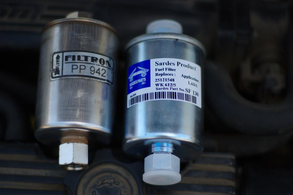 Filtron PP 942 и Sardes SF 130